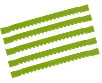 "TapeTech  6.5""QuickBox QSX Blades Notched Finishing 5 Pack - QB6043-5"
