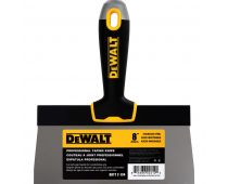 "DeWalt 8"" Stainless Steel Taping Knife Soft Grip Handle 2-134"