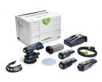 Festool Cordless Eccentric Sander ETSC 125 Li 3,1 I-Set - 575714