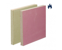 British Gypsum Gyproc Fireline Plasterboard Square Edge 2400x1200x12.5mm – 01919/7