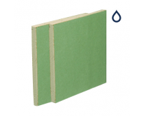 British Gypsum Gyproc Moisture Resistant Plasterboard 15.0mm Tapered Edge 2400mm x 1200mm – 01286/0