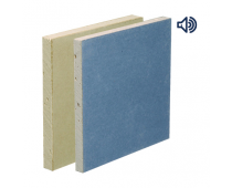 British Gypsum Gyproc Soundbloc Rapid Plasterboard 15.0mm Tapered Edge 2400mm x 900mm – 01729/2