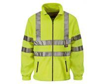 Scan Hi-Visibility Yellow Full Zip Fleece