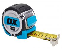 Ox Pro Heavy Duty Tape Measure Metric/Imperial 5m OX-P028705