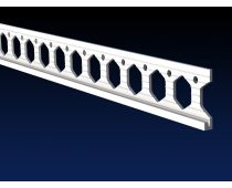 Renderplas 4mm PVC Plaster Stop Bead 2.5 Meter (Box Qty 20) - PS4