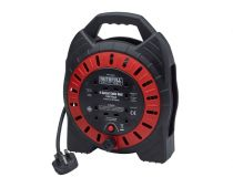 Faithfull 10m Power Plus Cable Reel 13A - XMS1910CABLE