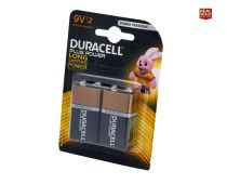 Duracell Plus Power Batteries 9V (Pack of 2) - XMS19BAT9V2