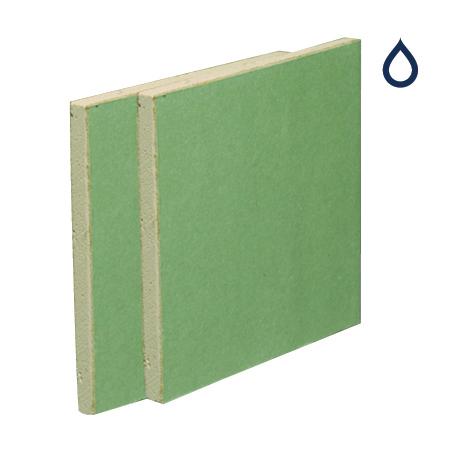 British Gypsum Gyproc Moisture Resistant Plasterboard 12 5mm Tapered Edge  2700mm x 1200mm – 01083/5